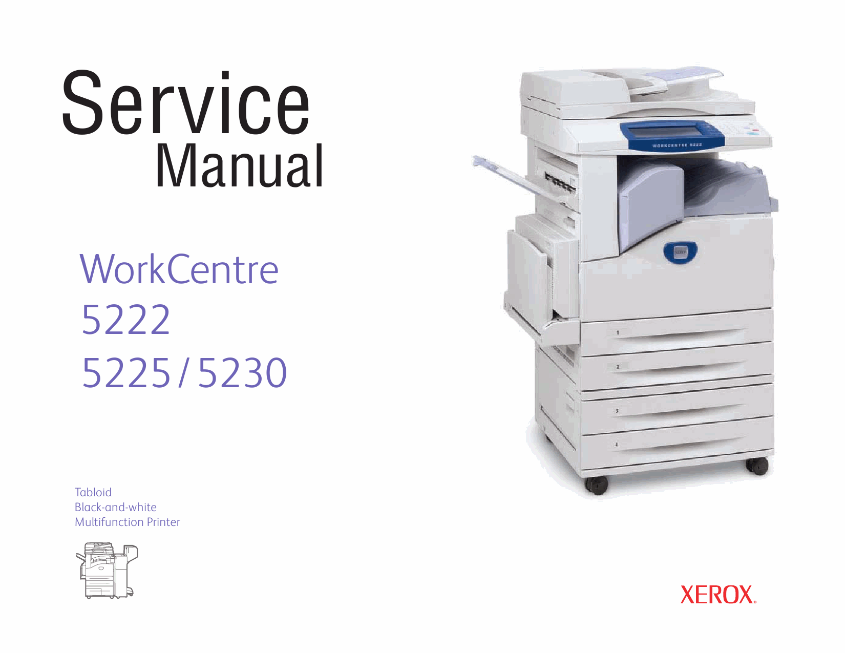 Xerox WorkCentre 5222 5225 5230 Parts List and Service Manual-1